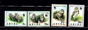 Aruba 101-04 MNH 1994 Owls (W.W.F.)