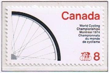 Canada Mint VF-NH #642 Cycling