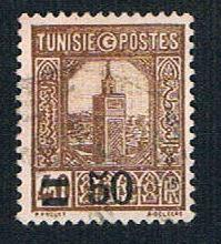 Tunisia 121 Used Grand Mosque surcharged (BP7617)