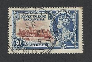 KENYA, UGANDA, & TANZANIA SC# 43 F-VF U 1935