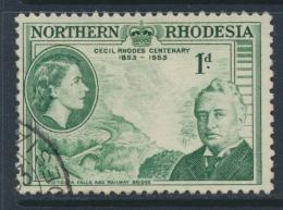 Northern Rhodesia  SG 55 SC# 55 Used / FU - Cecil Rhodes - see details