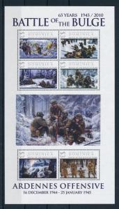 [81174] Dominica 2009 Second World war Ardennes offensive Belgium Sheet MNH