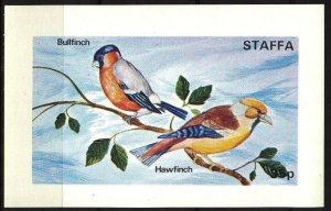 {ST184} Staffa Scotland Birds (1) S/S 0,35£ MNH Local Cinderella !!