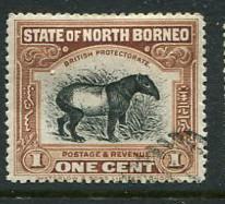 North Borneo #136 Used