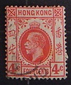 Hong Kong, 1912, King George V of the United Kingdom, SC #111, (1746-T)