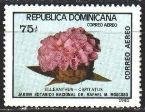 Dominican Republic. 1981. 1326 from the series. Cacti, flora. MLH.