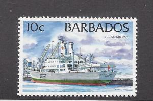 Barbados, 873a, Ships Single,**MNH**