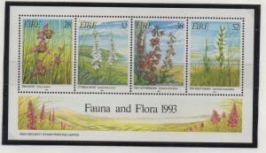 Ireland Sc 894a 1994 Orchids stamp sheet mint NH