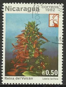 Nicaragua 1982 Scott# 1191 Used