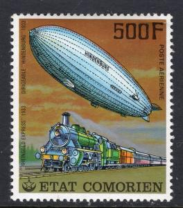 Comoro Islands 252 Zeppelin Train MNH VF