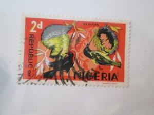 Nigeria #187a used  2019 SCV = $2.50