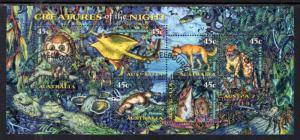 Australia 1622a Souvenir Sheet Used VF