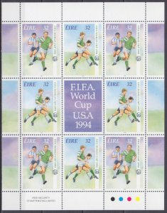 1994 Ireland (EIRE) 857-858KL 1994 FIFA World Cup in USA 10,00 €