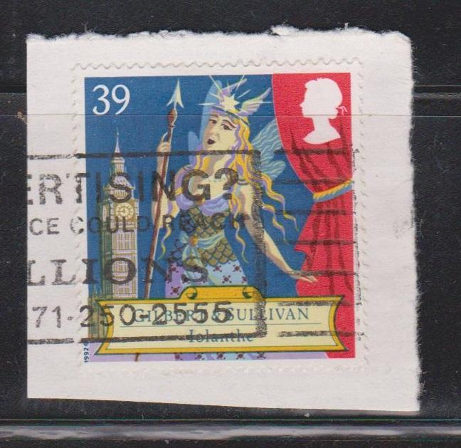 GREAT BRITAIN Scott # 1462 Used On Piece