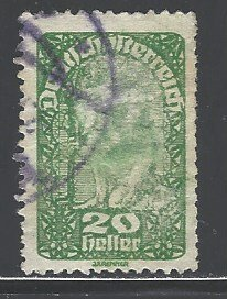 Austria Sc # 208 used (RRS)