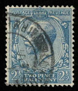1924-1928, King George V, Great Britain, Postage Revenue, 1 1/2P (RT-163)