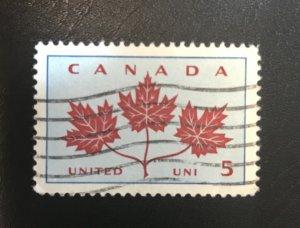 Canada # 417 Used