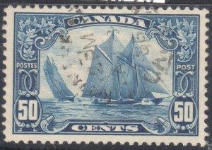 Canada Used #158 XF USED BLUENOSE