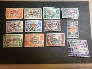 Cameroons Scott 66-77 Mint OG CV $29.90