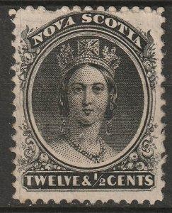 Nova Scotia 1860 Sc 13 MNG