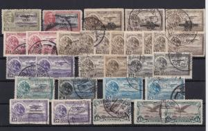 mexico 1929 air  stamps ref r12838