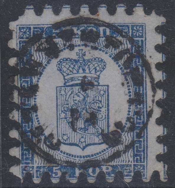 FINLAND Sc 4a ROULETTE II USED BY TAMMERFORS Cds F,VF SCV$225.00
