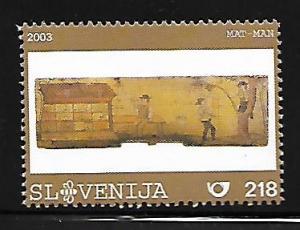 SLOVENIA 527 MNH PAINTED BEEHIVE PANEL