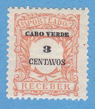Cape Verde J24 MH - Postage Due