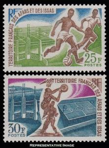 Afars and Issas Scott 315-316 Mint never hinged.