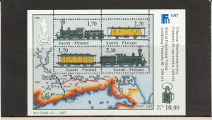 FINLAND *755 SOUVENIR SHEET MNH 2019 SCOTT CATALOGUE VALUE $15.00