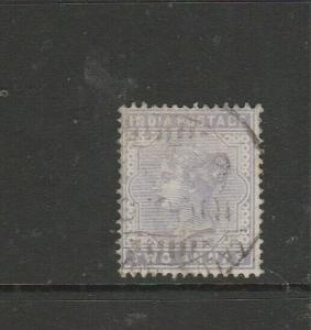 India 1900/2 2As Pale Violet Used SG 116