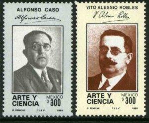 MEXICO 1568-69 ALFONSO CASO & VITO ALESSIO Art & Science of Mexico MINT NH F-VF