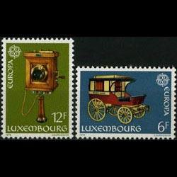 LUXEMBOURG 1979 - Scott# 624-5 Europa-Postal Set of 2 NH
