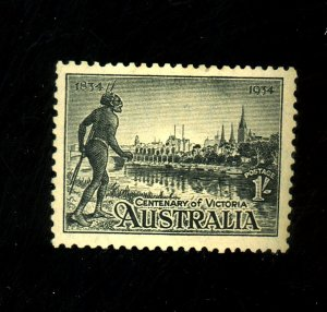 Australia #144 MINT FVF No Gum Cat$62.50
