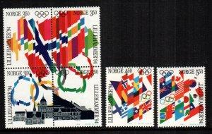 Norway  1053 - 1058  MNH  Cat $  11.25