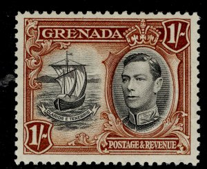 GRENADA GVI SG160, 1s black and brown, M MINT.