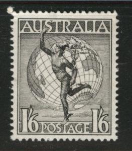 Australia  Scott C7 MNH** 1956 Mercury Globe airmail wo wmk