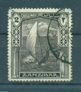 Zanzibar sc# 210 used cat value $2.50