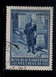 Uruguay Scott 594 Used