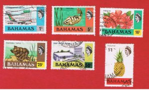 Bahamas #426-441  VF used   Various Scenes Free S/H