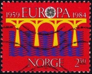 Norway. 1984 2k50 S.G.934 Fine Used