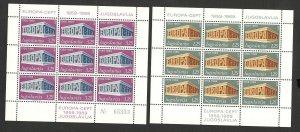 YUGOSLAVIA -MNH S/S - EUROPA CEPT, 2. ISSUE - MICHEL CV= 150 € - 1969.