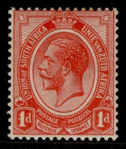 SOUTH AFRICA GV SG4a, 1d carmine-red, M MINT.