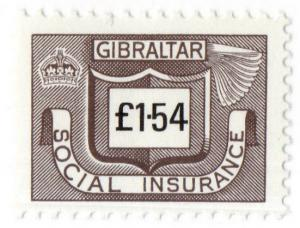 (I.B) Gibraltar Revenue : Social Insurance £1.54