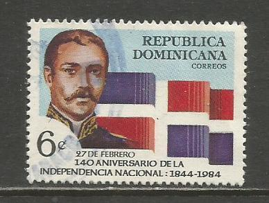 Dominican Rep.   #898  Used  (1984)