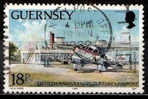 Guernsey 1989 SG. 458 used (10821)