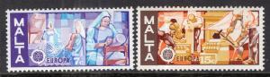 Malta 512-513 Europa MNH VF
