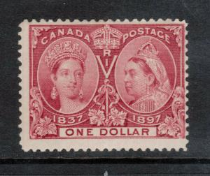 Canada #61 Mint Fine Never Hinged With Brouler Expert Mark **With Certificate**
