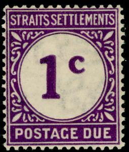 MALAYSIA - Straits Settlements SGD1, 1c violet, M MINT.