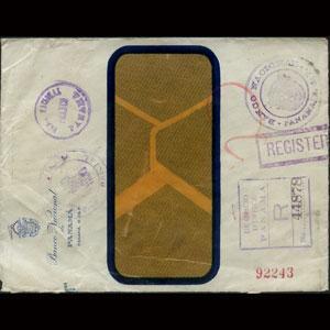 PANAMA 1930 - Reg.Off.Cover